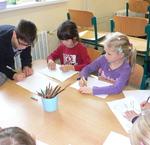 Spolupráce 1. třídy a 5. třídy